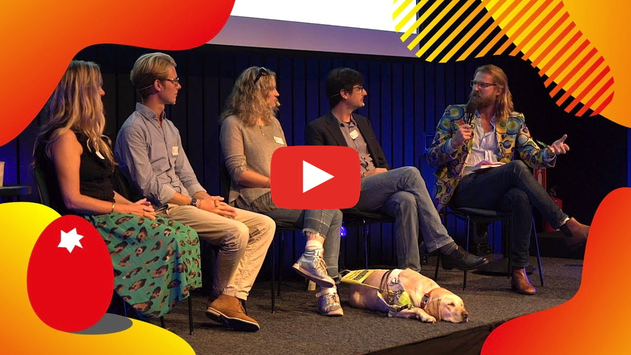 Sustainability Tips form our panel at the European Startup Festival 2019