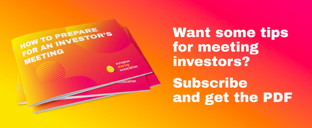 Want some tips for meeting investors? Subscribe and get the PDF
